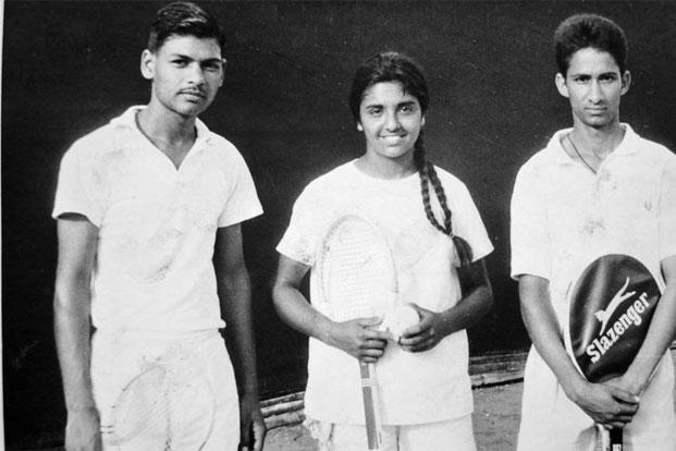 Kiran Bedi with her tennis teammates in December 1967. Photo KB Office Archival Gallery