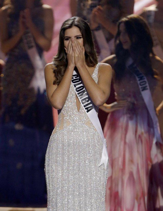 Miss Colombia Paulina Vega Miss Universe 2015