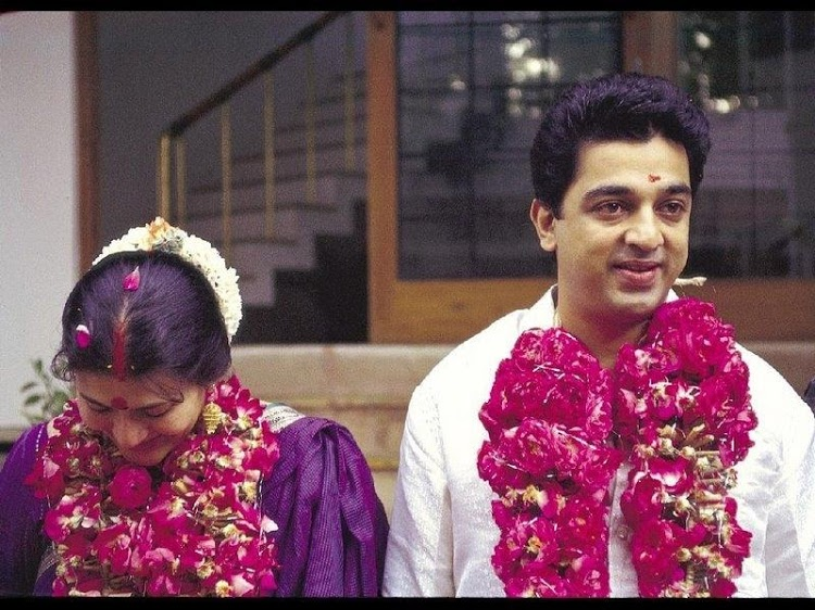 Kamal Hasan and Sarika