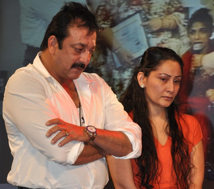 Sanjay Dutt and Reha